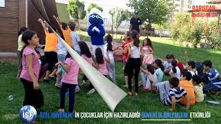 Barışcan Animasyonları;  Özel İSF Güvenlik'in Çocuklar İçin Hazırladığı Güvenlik Önlemleri Etkinliği