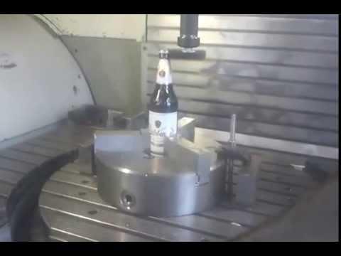 Radeberger öffnen mit CNC Fräsmaschine