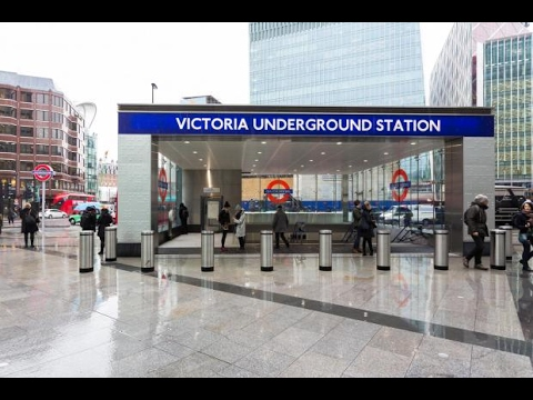 New Entrance at Victoria Underground Station February 2017
