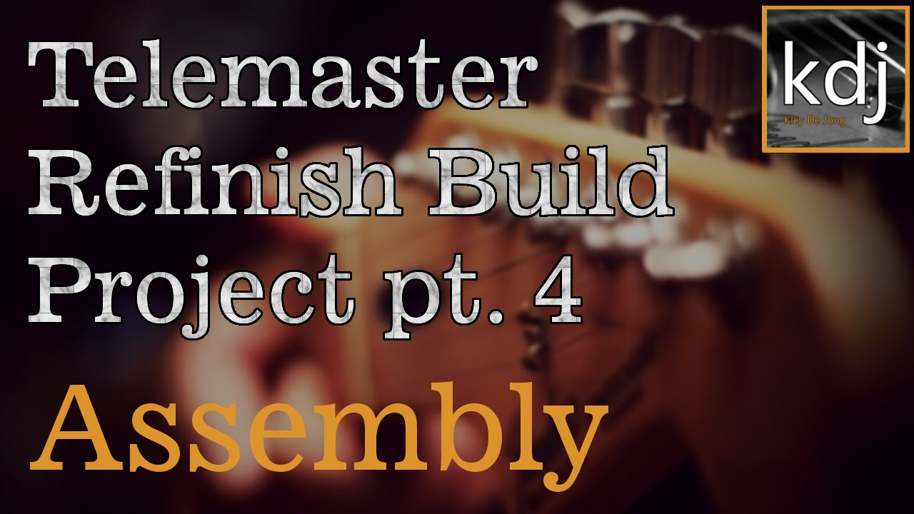 maxresdefault telemaster refinish build project pt 4 assembly youtube,Wiring A Telmaster Guitar Kit Youtube