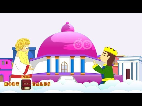 The Temple of Solomon I Stories of Solomon I  Children's Bible Stories| Holy Tales Bible Stories