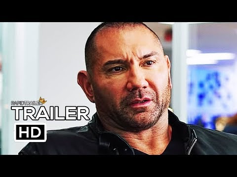 G-621 My Spy Movie 2019 In Control Dave Bautista Poster 24x36 27x40 32x48Inch