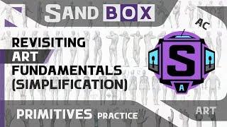 (Человек Упрощение) Сессия 43 - Creative Sandbox [RUS/eng] (Пересмотр основ рисования)