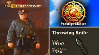 Theseknivesonly Achieved Max Rank In Cod:wwii Without Firing A Shot