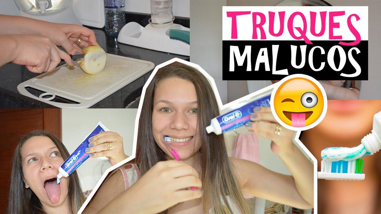 5 Truques Incriveis Com Pasta De Dente Creme Dental Youtube