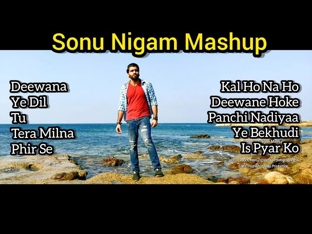 Sonu Nigam 10 Super Hit Songs Mashup | Talha Nadeem | Heart Touching Voice