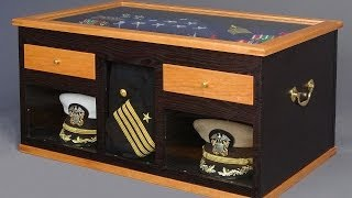 http://www.AndrewPittsFurnitureMaker.com My client wanted a Sea Chest for his retirement as a United States Naval Officer. The