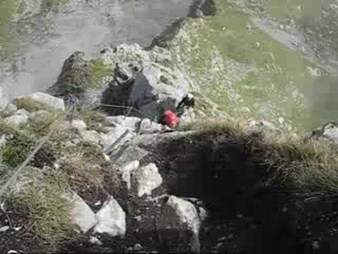 Fürenwand Klettersteig Unfall : Klettersteig braunwald youtube