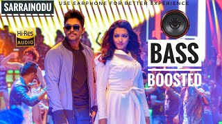 Private party ||| Sarrainodu |🎧| Bass Boosted Telugu Song ||| Allu Arjun