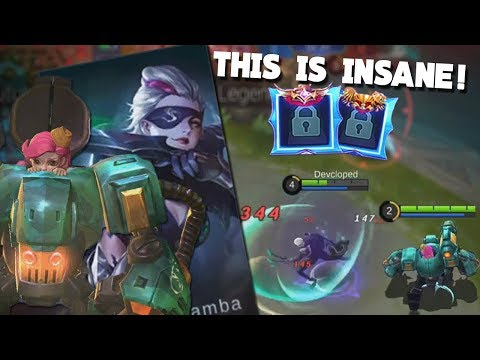 NEW Natalia & Jawhead Skin Gameplay + Epic Avatar Border Mobile Legends