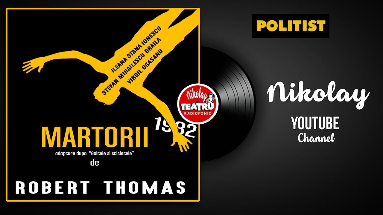 ????????? de Robert Thomas 1982 cu Ileana Stana Ionescu TEATRU RADIOFONIC POLITIST Nikolay