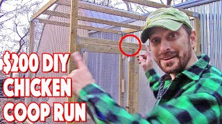 Gambar cover How To Build A Chicken Coop Run | Our Unique DIY Predator Proof Build