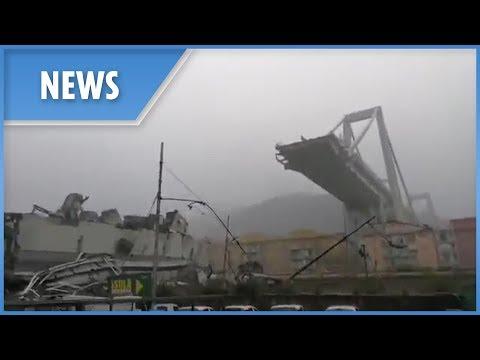 Genoa Bridge Collapse: aftermath