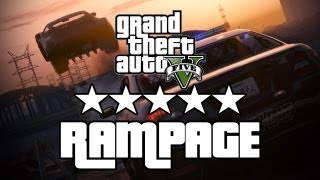 let s play gta 5 insane 5 star rampage with alfredo and greg ign plays