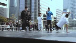 Fever Seoul B-boy Battle in Gwanghwamun Square