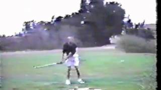 A Perfect Golf Swing - 8 Iron Face On At Ucsd By Ea Tischler