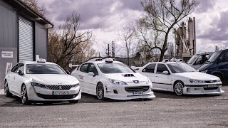 Peugeot 508 Taxi, POA, KITT, Eclipse et Supra, une journée chez Movie cars Central!