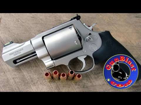 Shooting Big-Bore Hunting Revolvers from Smith & Wesson Performance Center - Gunblast.com
