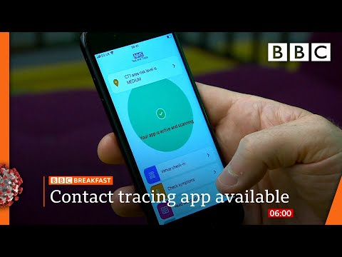 Sunak to unveil emergency jobs scheme | NHS Covid-19 app launches @BBC News LIVE on iPlayer - BBC