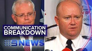 RFS Commissioner blindsided by reserves call up | Nine News Australia
