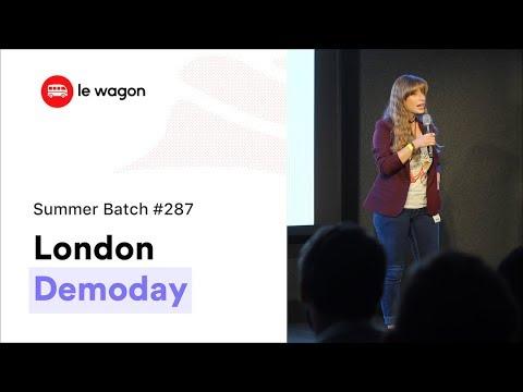 Coding Bootcamp London | Le Wagon Demo Day - Batch #287