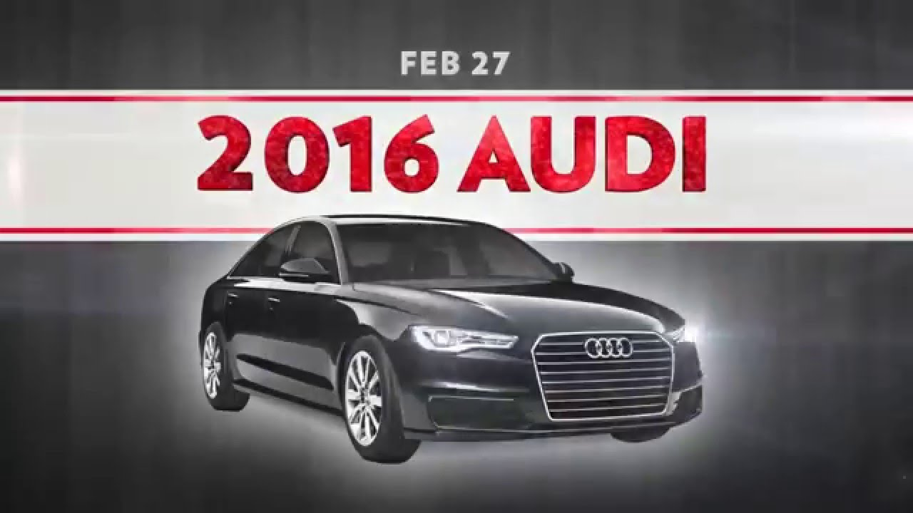 License To Thrill Giveaway YouTube - Audi car giveaway