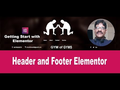 Custom Header with Header, Footer & Blocks for Elementor