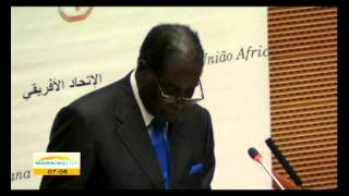 mugabe takes over au chairmanship
