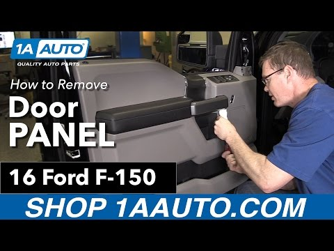 How to Replace Front Driver's Door Panel 15-19 Ford F-150