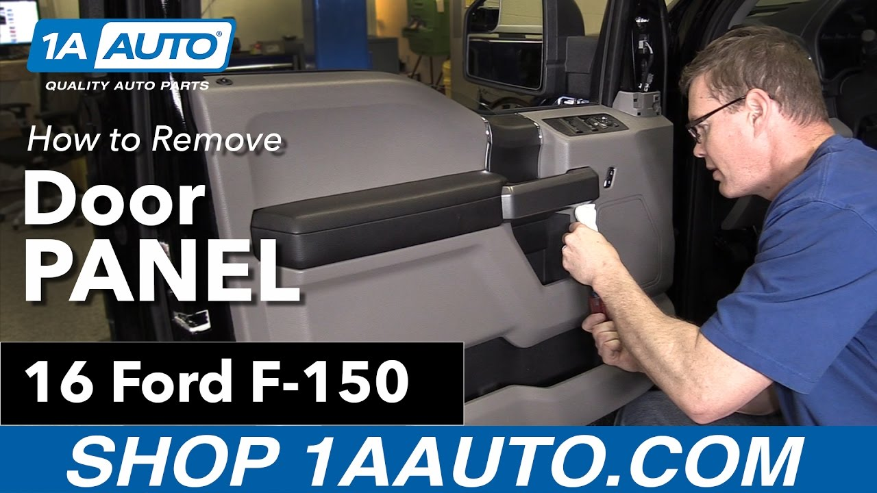 How To Replace Front Driver S Door Panel 15 19 Ford F 150