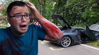 CRASHING MY BRAND NEW SUPERCAR   Roblox - Vehicle Simulator