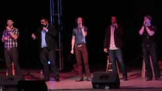 Home Free performing perfectly Lee Greenwood's God Bless The USA in Austin's hometown