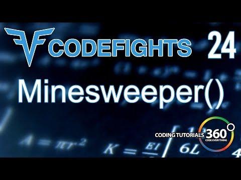Minesweeper | CodeFights Intro Algorithm JavaScript Solution