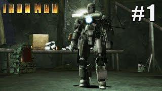 Iron Man - PC Playthrough Gameplay 1080p / Win 10 / Part 1
