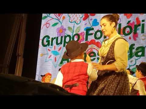 Rancho Folclórico de Atiães Infantil - Festa das Colheitas - Vila Verde - 2018