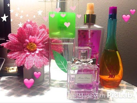 Perfumes favoritos Primavera Verano YouTube