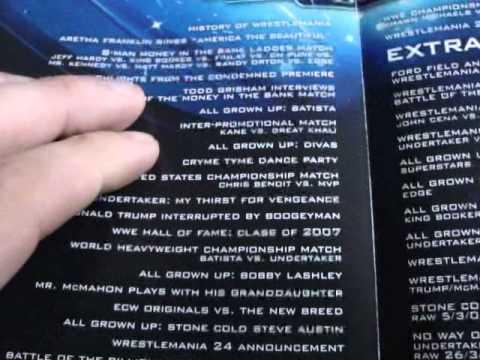 Wrestlemania 23 DVD (3 Discs) Special Tin Edition