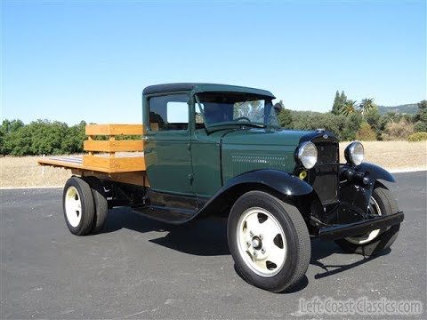 1931 Ford Model AA Flatbed Truck For Sale