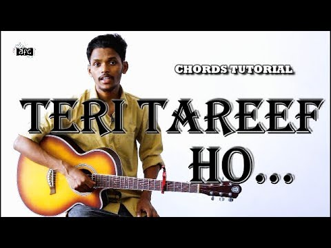 Teri Tareef Ho | Guitar Tutorial | Chords Lesson by AFC Music | Popular Hindi Christian Song thumbnail