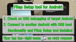 FRep Setup tool for Android
