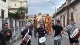 Tropea -- Festa I Tri da Cruci 2011 -- Raduno dei Giganti