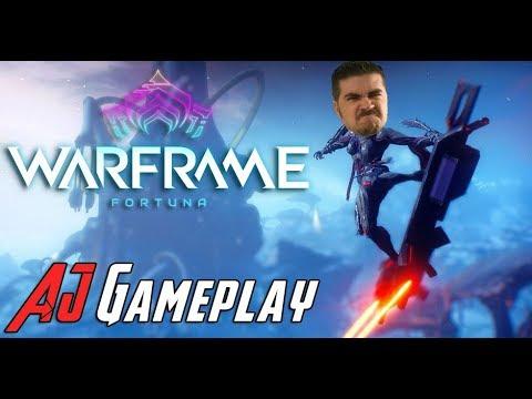 AJ Plays Warframe: Fortuna!