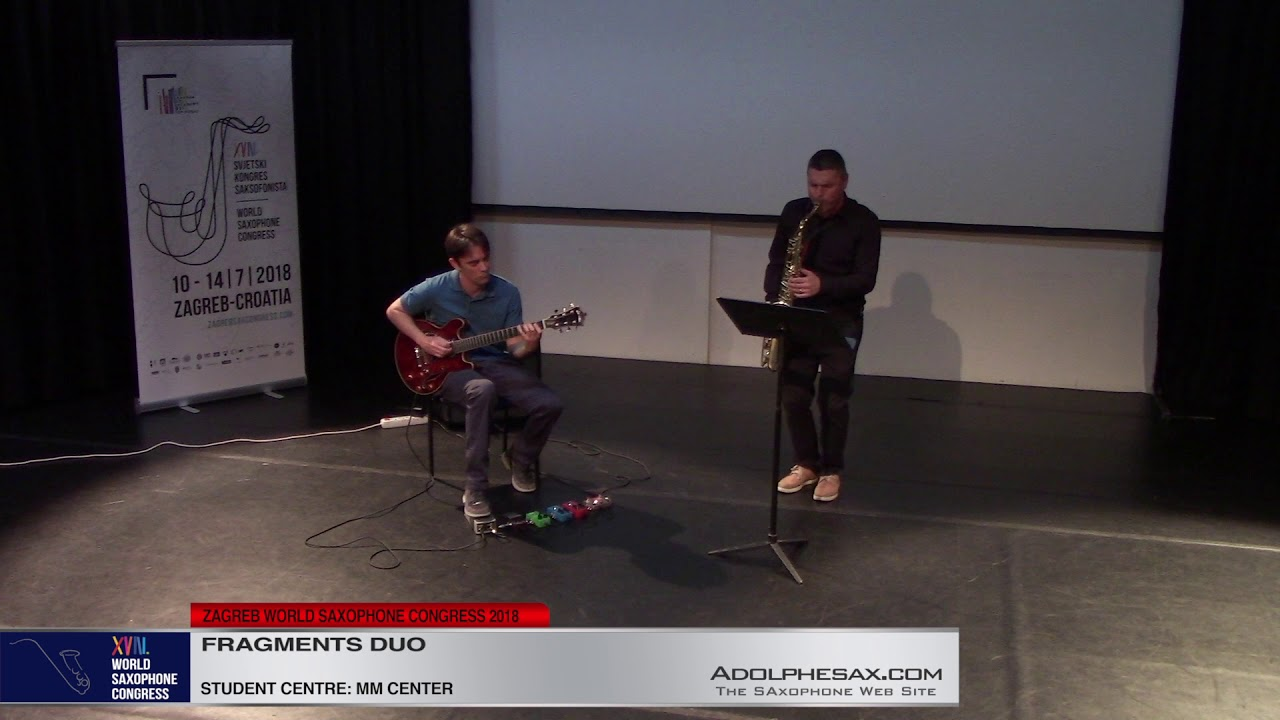 Alloy by Rich Patittuci    Fragments DUO   XVIII World Sax Congress 2018 #adolphesax