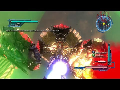 EDF Earth Defense Force 5 DLC 2 Online Mission 3 Engage Drones - Wing Diver Inferno thumbnail