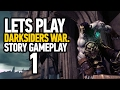 Darksiders: Warmastered Edition Walkthrough Gameplay Part 1 - Darksiders Remastered (PS4 - HD)