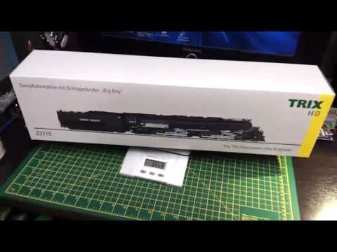 Model Railroad Train Track Plans -Great Ideas For Getting The Utmost From Your TRIX BIG BOY  unboxing testing.