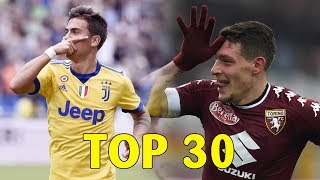 TOP 30 GOALS - Serie A 2017/18 (Girone d'andata) streaming