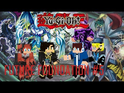 Yu-Gi-Oh ! Future Foundation (Minecraft Roleplay ) Episode 5 The Thundering Garden Of Death