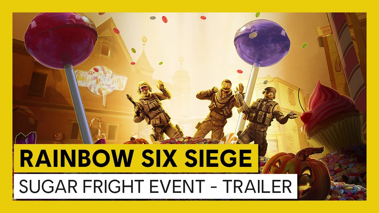 TOM CLANCY'S RAINBOW SIX® SIEGE ANNOUNCES LIMITED TIME HALLOWEEN EVENT: SUGAR FRIGHT