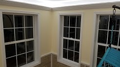 Do You Like Muntins?      This is an inexpensive (Really Cheap) way to dress up a plain window.